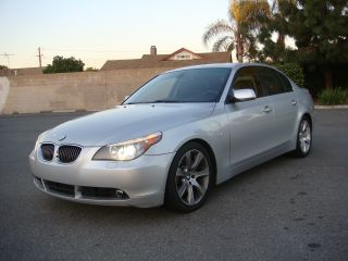 2007 Bmw 550i Sport Premium Pdc Ca Car photo