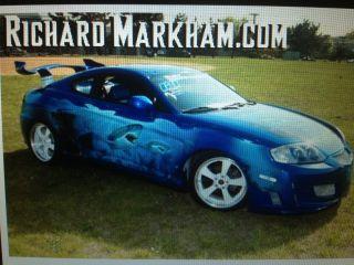2003 Hyundai Tiburon Award Winning Show Car photo
