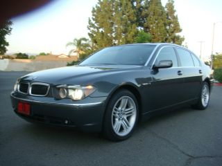 2004 Bmw 760li V12 Luxury Package Htd Vented Seats Inspected Ca Car photo