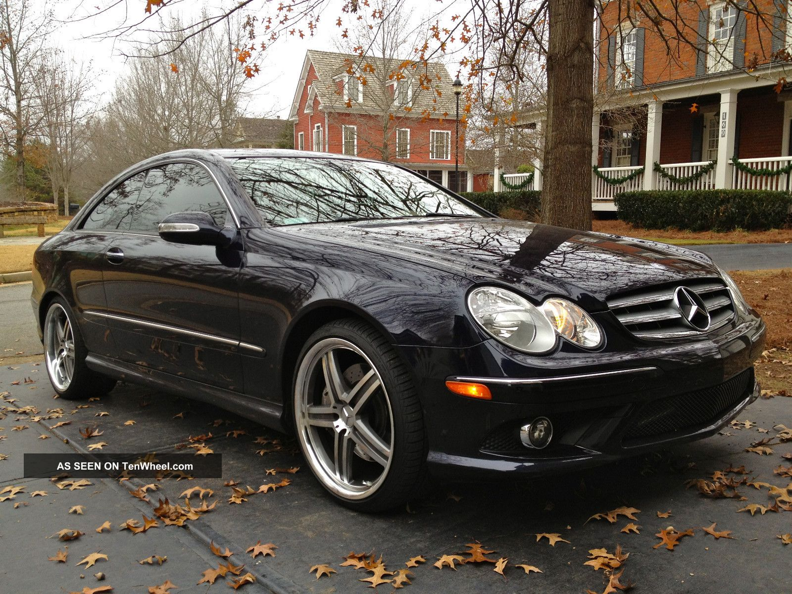 2008 mercedes benz clk 350 coupe amg sport package w 19 for Custom mercedes benz wheels