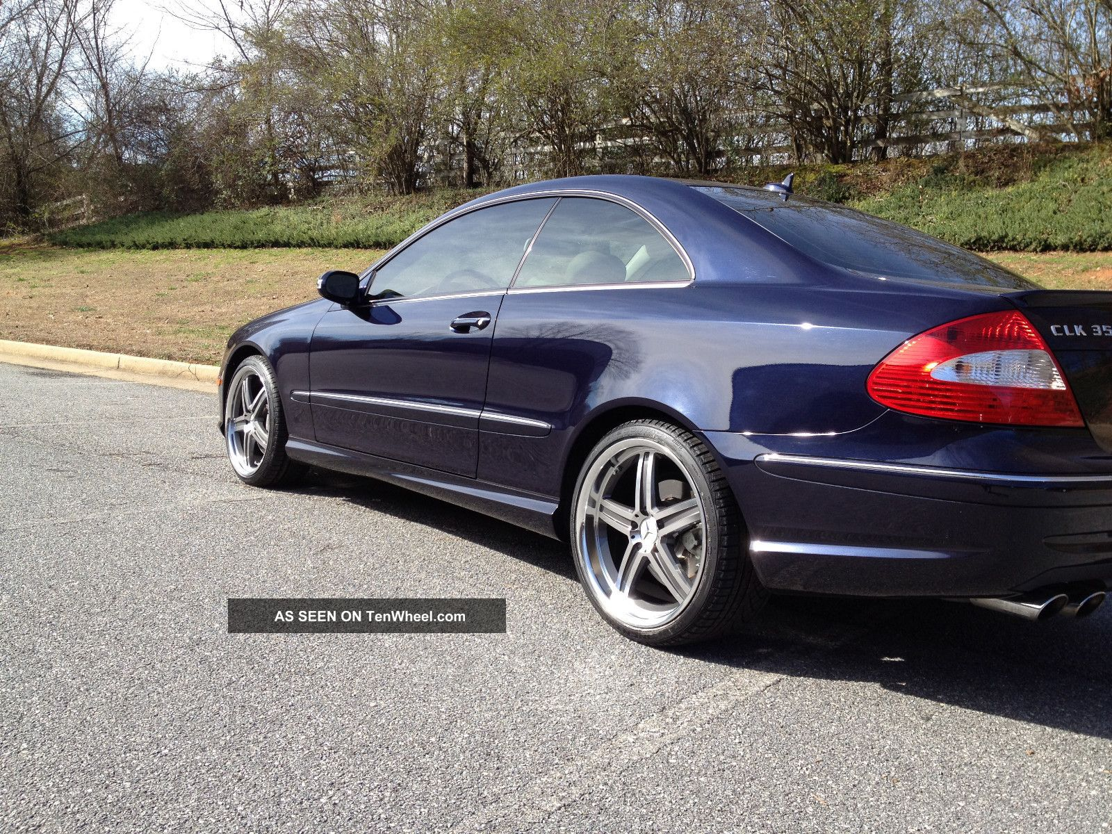 2008 mercedes benz clk 350 coupe amg sport package w 19 for Custom wheels for mercedes benz