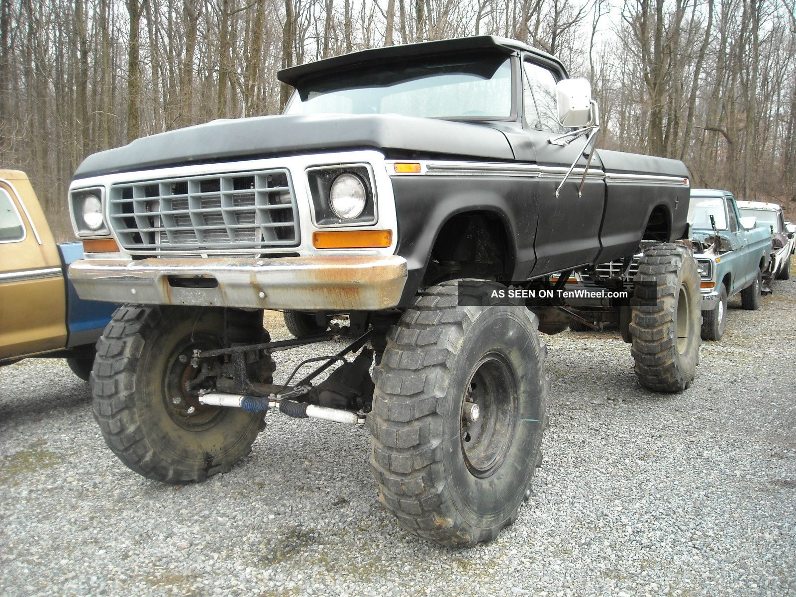 1978 Ford F 250 4x4 With A 5 9 Doege Cummins Diesel 1979 F 350 Rockwell