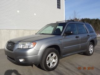 2007 Subaru Forester X Wagon 4 - Door 2.  5l Awd Auto Cd A / C $ave $ave photo