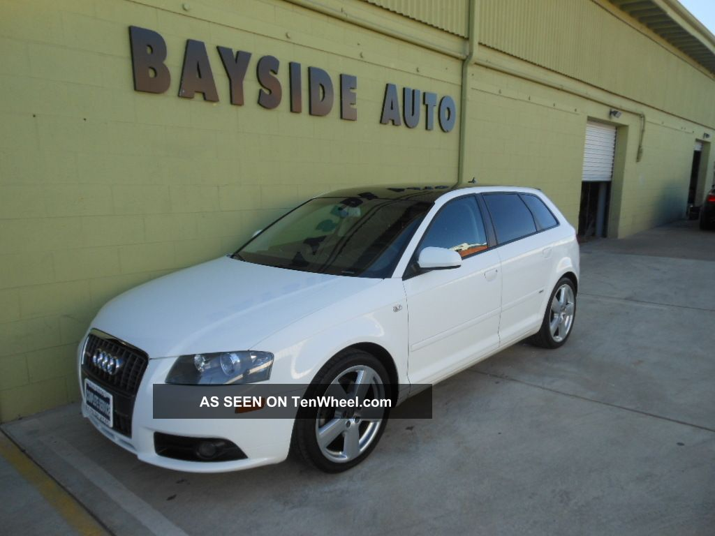 2007 audi a3 quattro 3 2l s line hatchback no accident. Black Bedroom Furniture Sets. Home Design Ideas