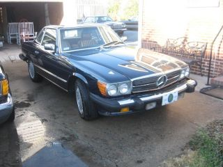 1987 Mercedes Benz 560 Sl photo