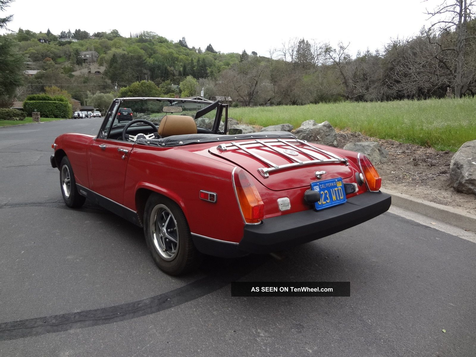 Mg midget covertiable