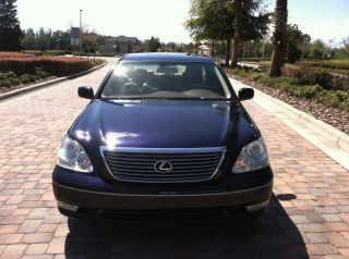2004 Lexus Ls430 Base Sedan 4 - Door 4.  3l photo