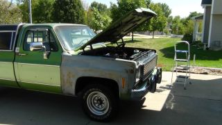 1976 Chevy Pickup Truck (camper Special) photo