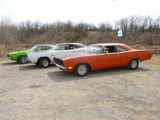 1970 Plymouth Roadrunner 440 4 Speed Hemi Orange Dana 60 Real Deal photo