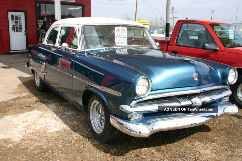 1953 Ford Customline Sharp Ready To Cruise