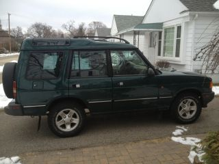 1998 Land Rover Discovery Le Sport Utility 4 - Door 4.  0l photo