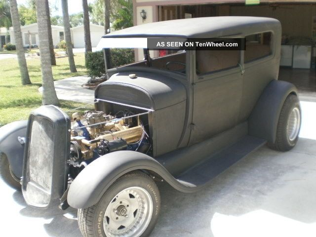 1928 ford model a 2 door sedan for 1928 chevrolet 2 door sedan