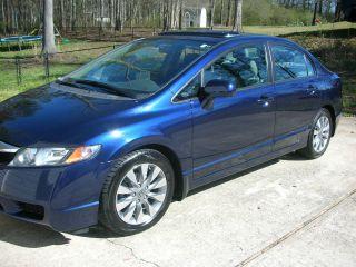 2009 Honda Civic Ex Sedan 4 - Door 1.  8l photo