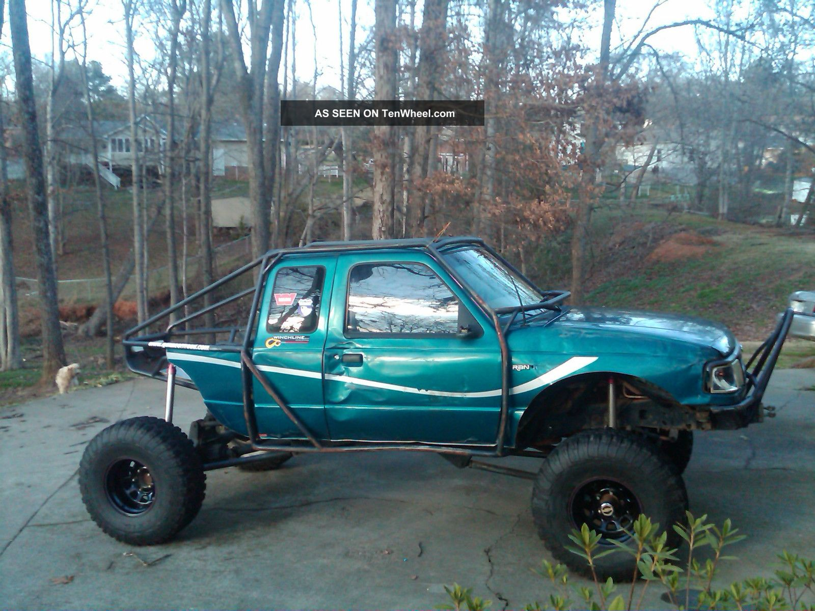 Ford Ranger Stx Extended Cab Pickup Door L Rock Crawler Lgw on 1994 Ford F 150 Automatic Transmission