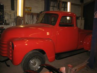 1952 Chevy Chevrolet Pickup Truck 3100 Vintage 5 Window Classic Rare Truck photo