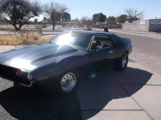 1974 Amc Javelin Barn Find Race Car Gasser Hot Rod Muscle Car photo