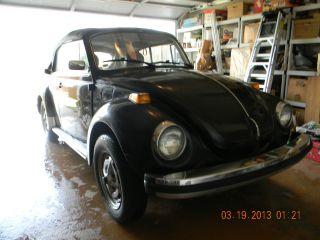 1979 Volkswagen Beetle Base Convertible 2 - Door 1.  6l photo