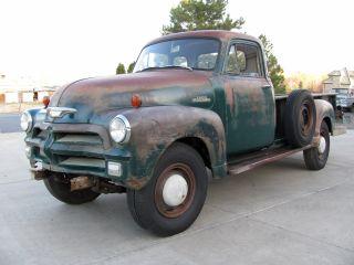 1954 Chevrolet 3800 5 Window Pickup Truck Barn Find Cond.  Rat Rod photo