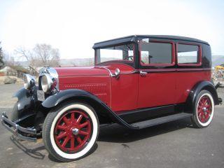 1929 Hudson Essex Six,  Driver,  Antique,  Collectable,  Vinage,