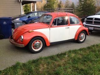 1971 Volkswagen Beetle,  Factory,  1600 Dual Port photo