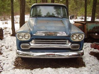 1959 Chevrolet Apache 32 Stepside 1 / 2 Ton photo