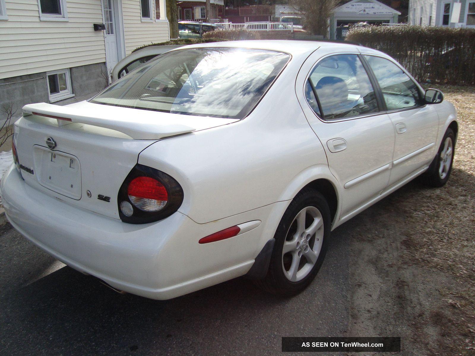 2000 Nissan Maxima Se V6 3 0l Engine Interior Price