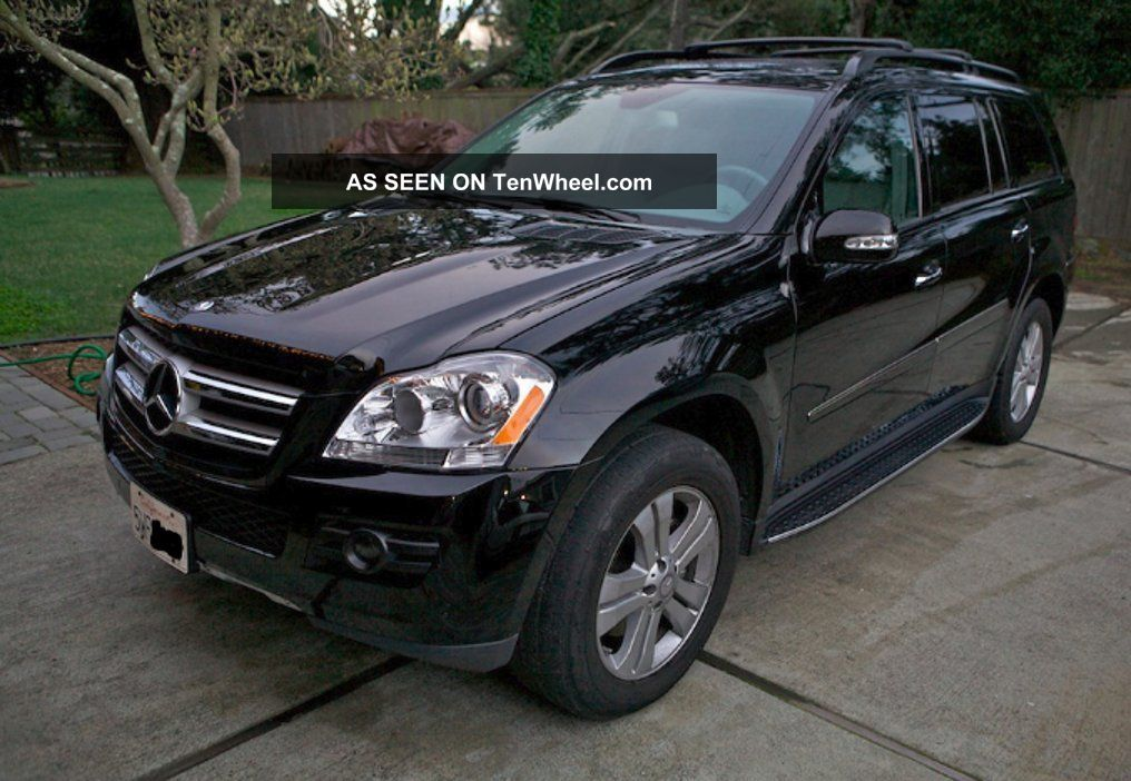 2008 mercedes benz gl450 4 matic for Mercedes benz gl 2008