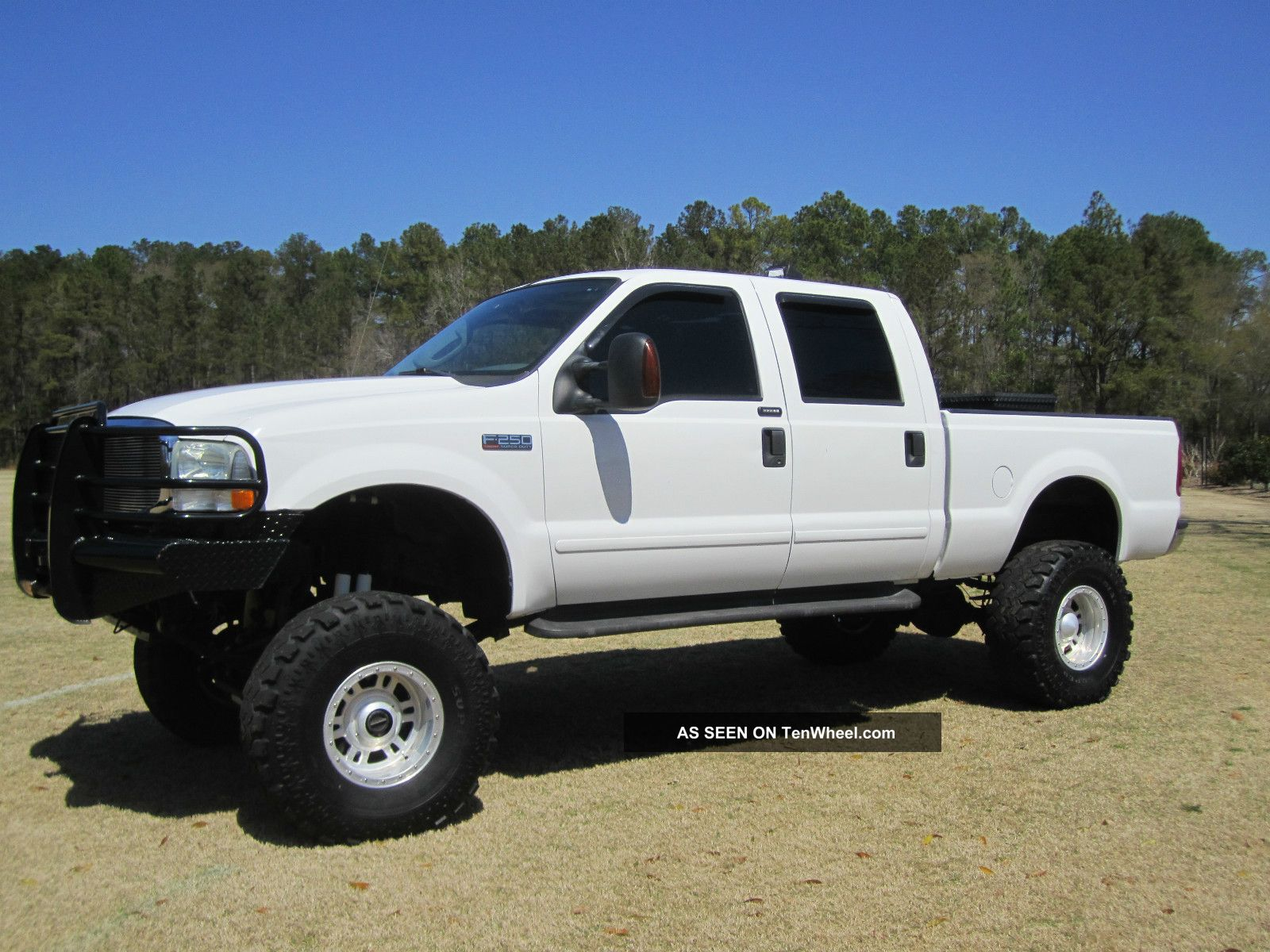 2004 ford f 250 4x4 crew cab lariat fx4 lifted. Black Bedroom Furniture Sets. Home Design Ideas