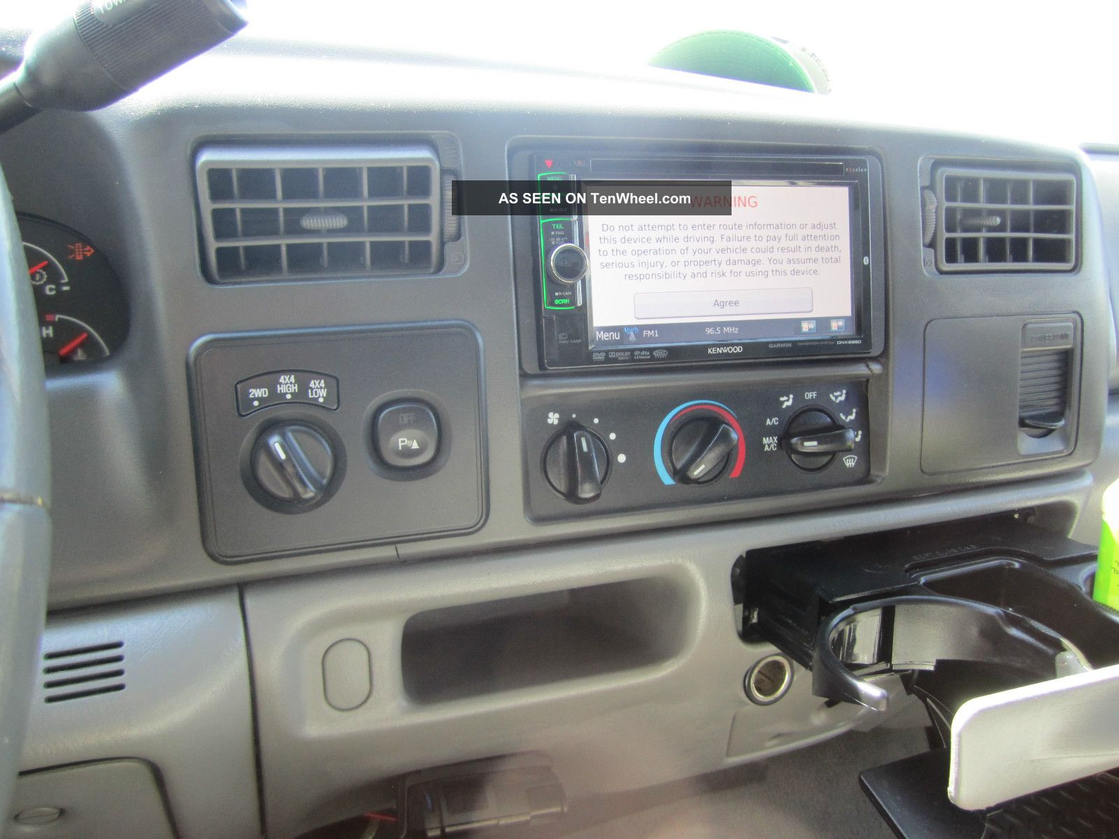 2004 Ford F 250 4x4 Crew Cab Lariat Fx4 Lifted