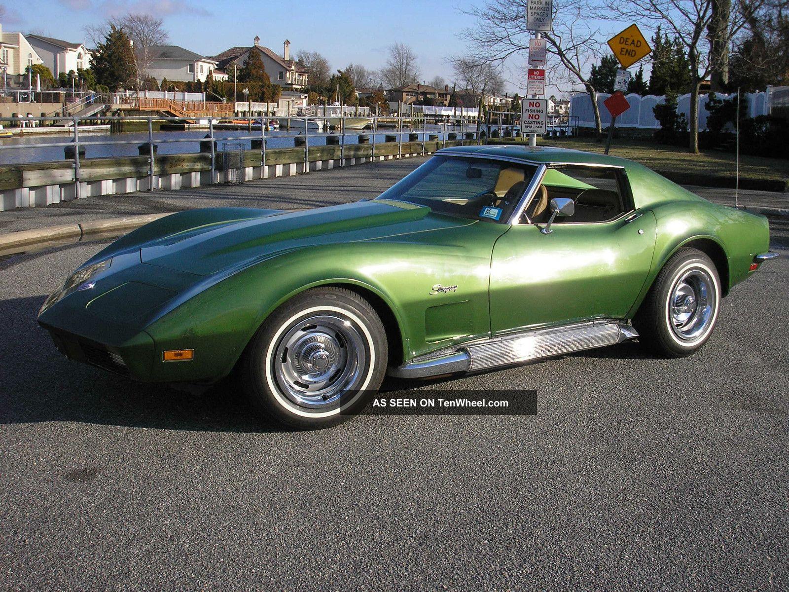 2013 Chevy Malibu Owners Manual >> 1973 Corvette L - 82 ' S Match 4spd Solid Orig 84k P / W A / C T&t Stingray