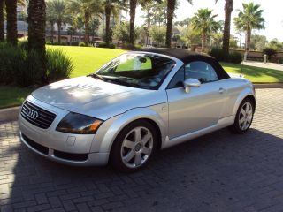 2001 Audi Tt Base Convertible 2 - Door 1.  8l photo