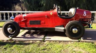 1932 Alfa Romeo 8c Reproduction Ferrari Classic Race Car Cost $6million photo