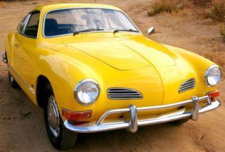 Volkswagen Karmann Ghia - 1970 - photo