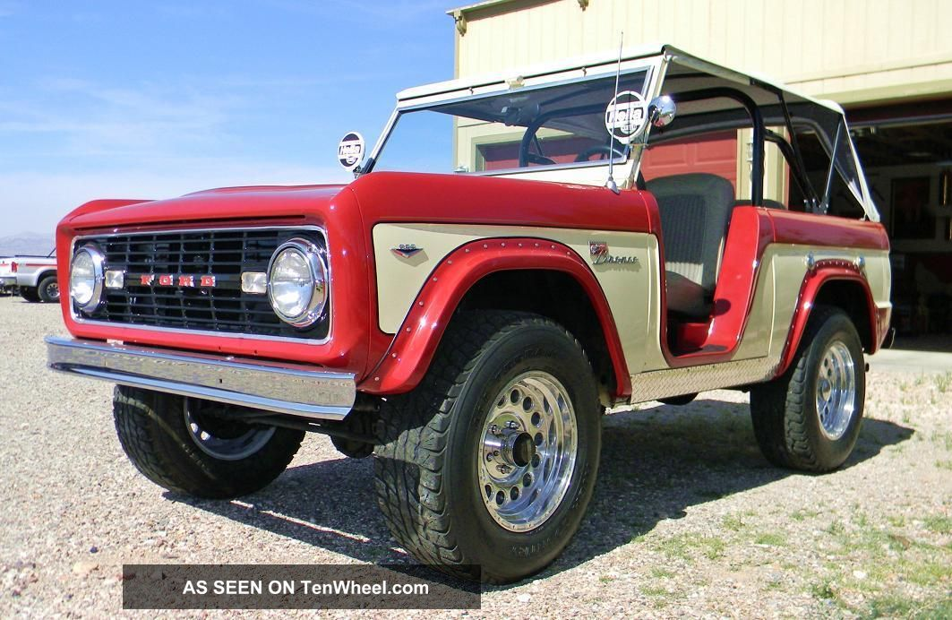 1968 Ford Bronco for Sale on ClassicCarscom