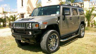 2005 Hummer H2 Luxury 4x4 Dvd Chrome Pkg 24