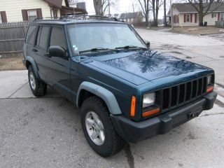 1997 Jeep Cherokee Xj Four Door 4x4 Five Speed Manual Rare Stick Shift photo