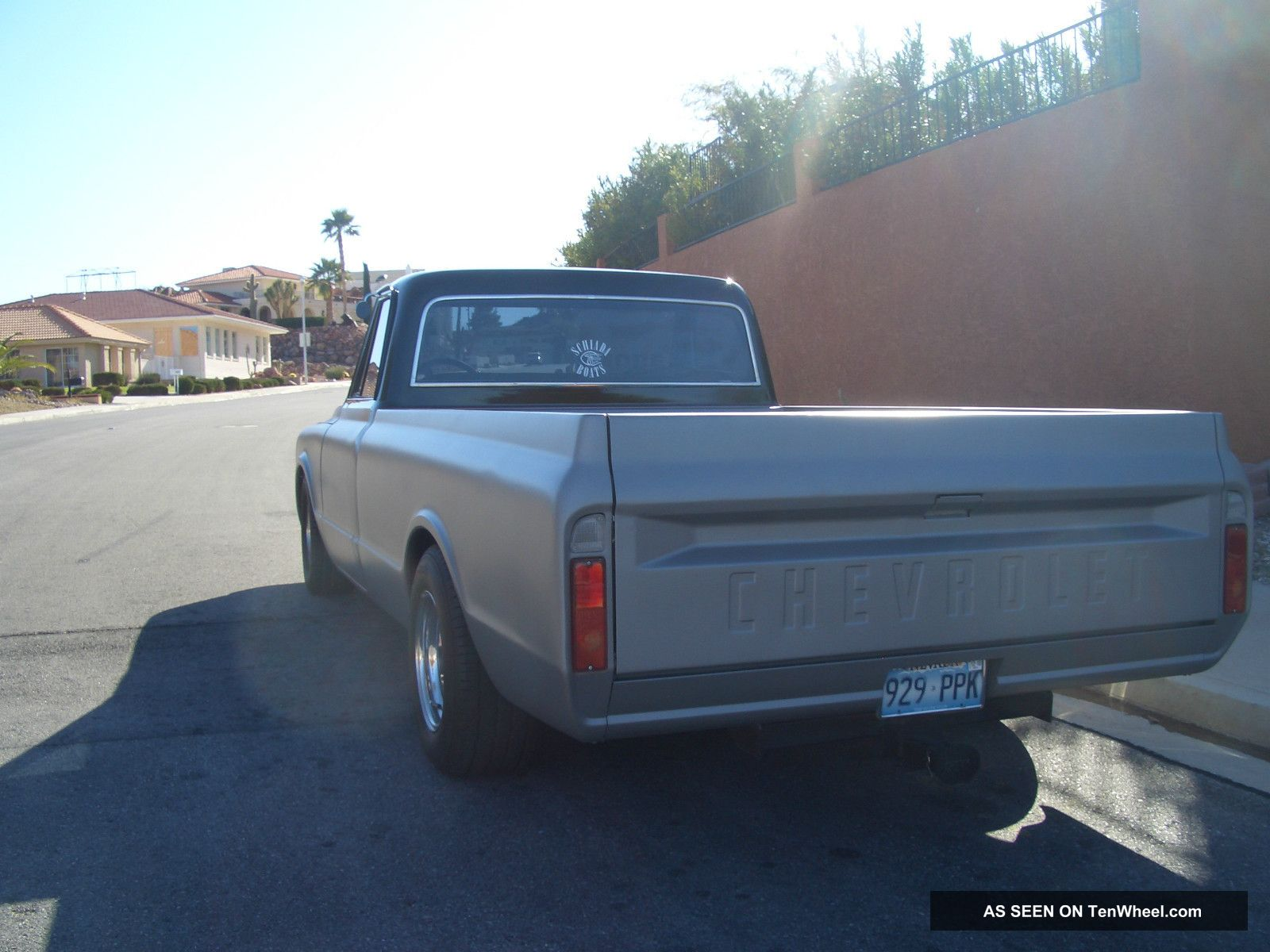 1968 Chevy C10 Pick Up Truck Black And Gun Metal Gray C 10 Wiring Diagram