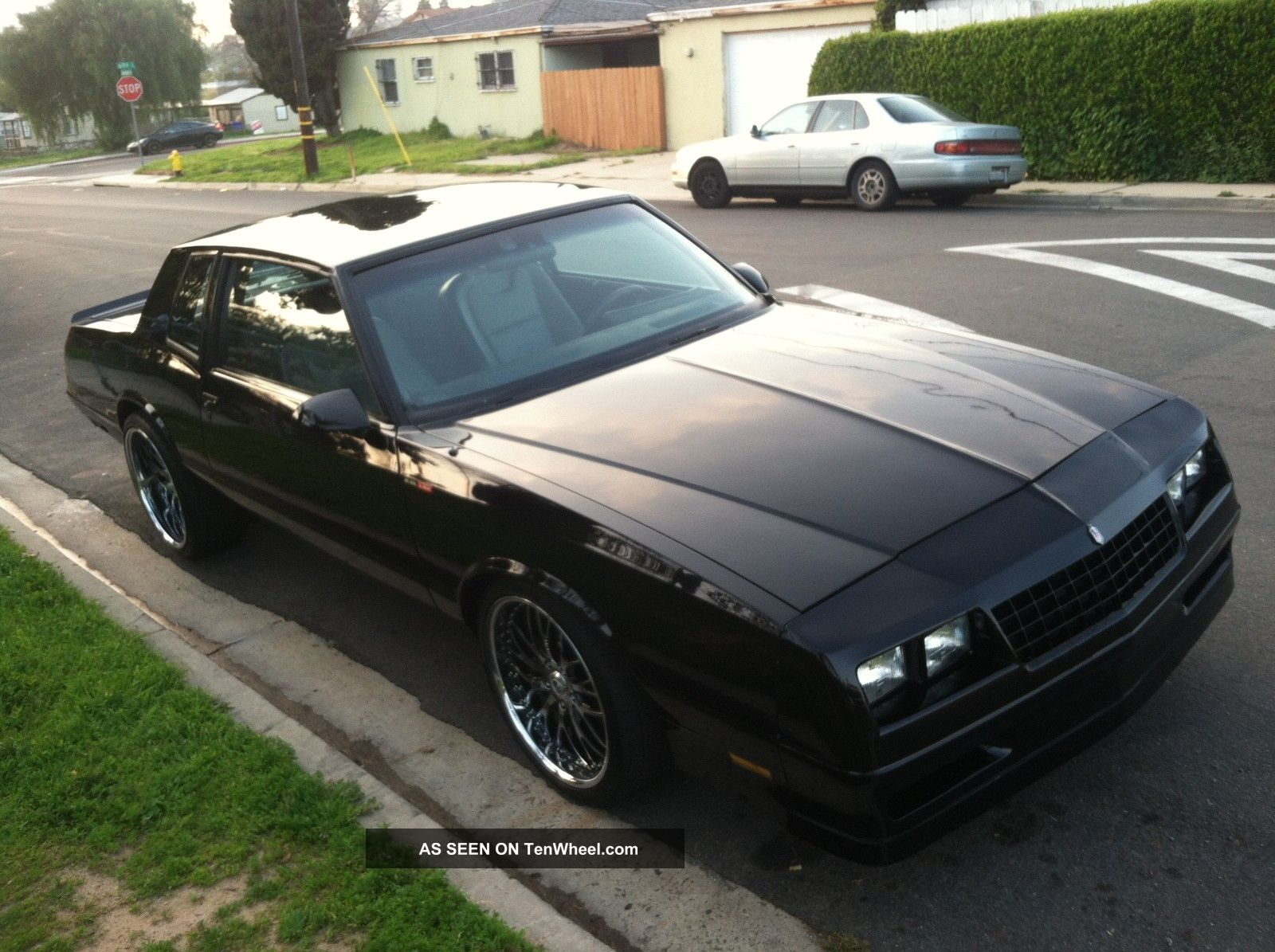 9335 1986 chevrolet monte carlo ss  6   0 ls2  very fast custom asanti  chevy on 86 alfa romeo spider