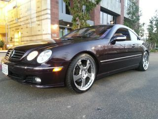 2003 Mercedes - Benz Cl500 Base Coupe 2 - Door 5.  0l photo
