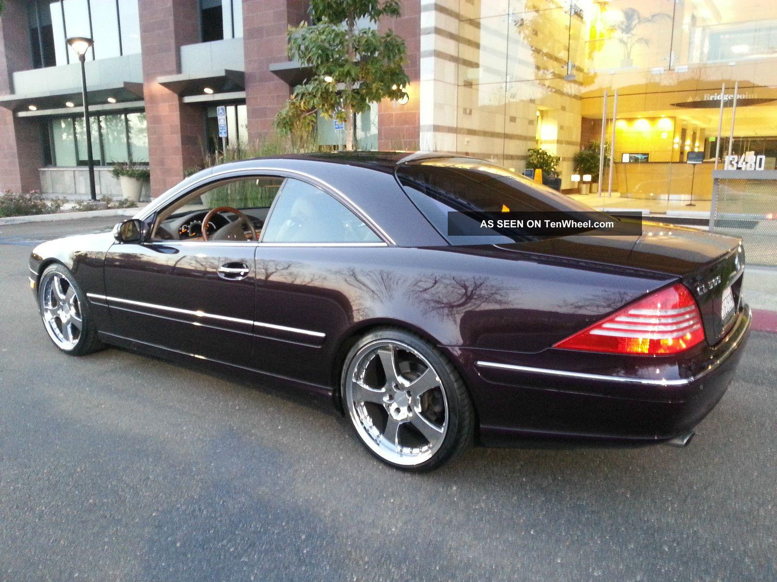 2003 mercedes benz cl500 base coupe 2 door 5 0l for Mercedes benz cl500