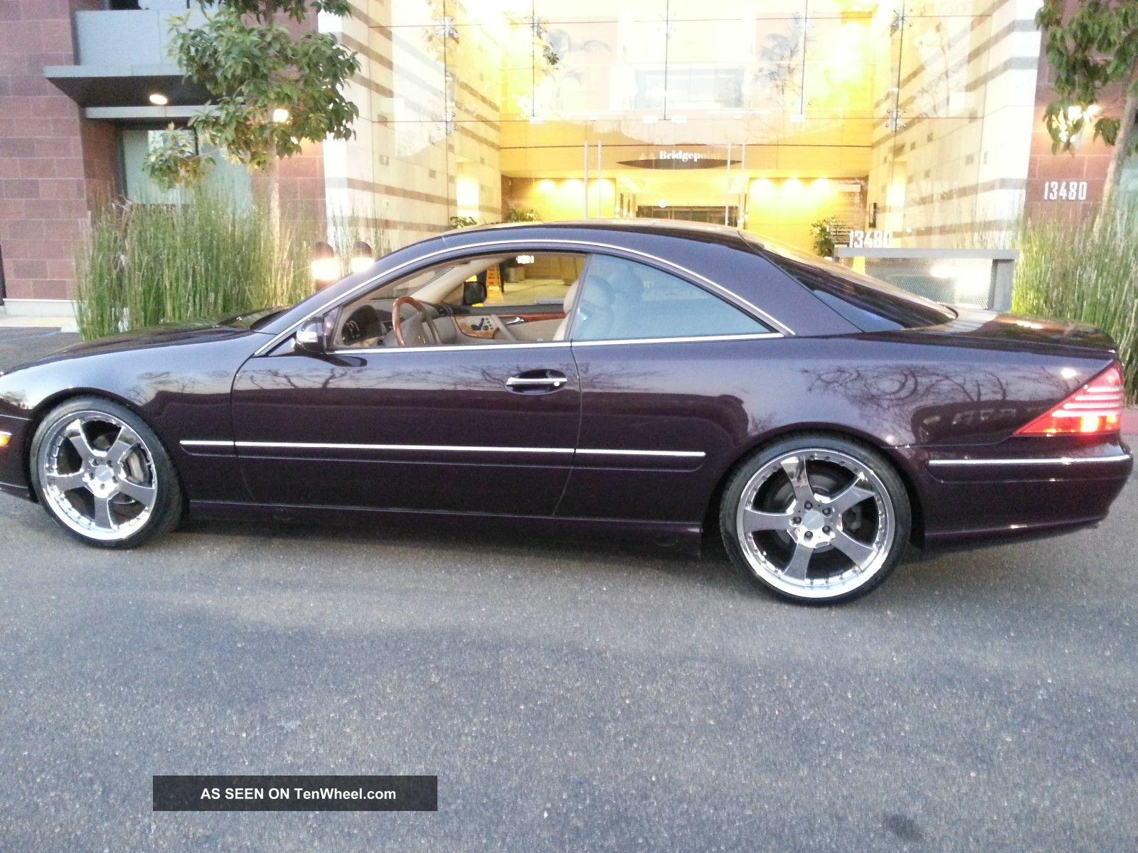 2003 mercedes benz cl500 base coupe 2 door 5 0l for Mercedes benz 2 door coupe