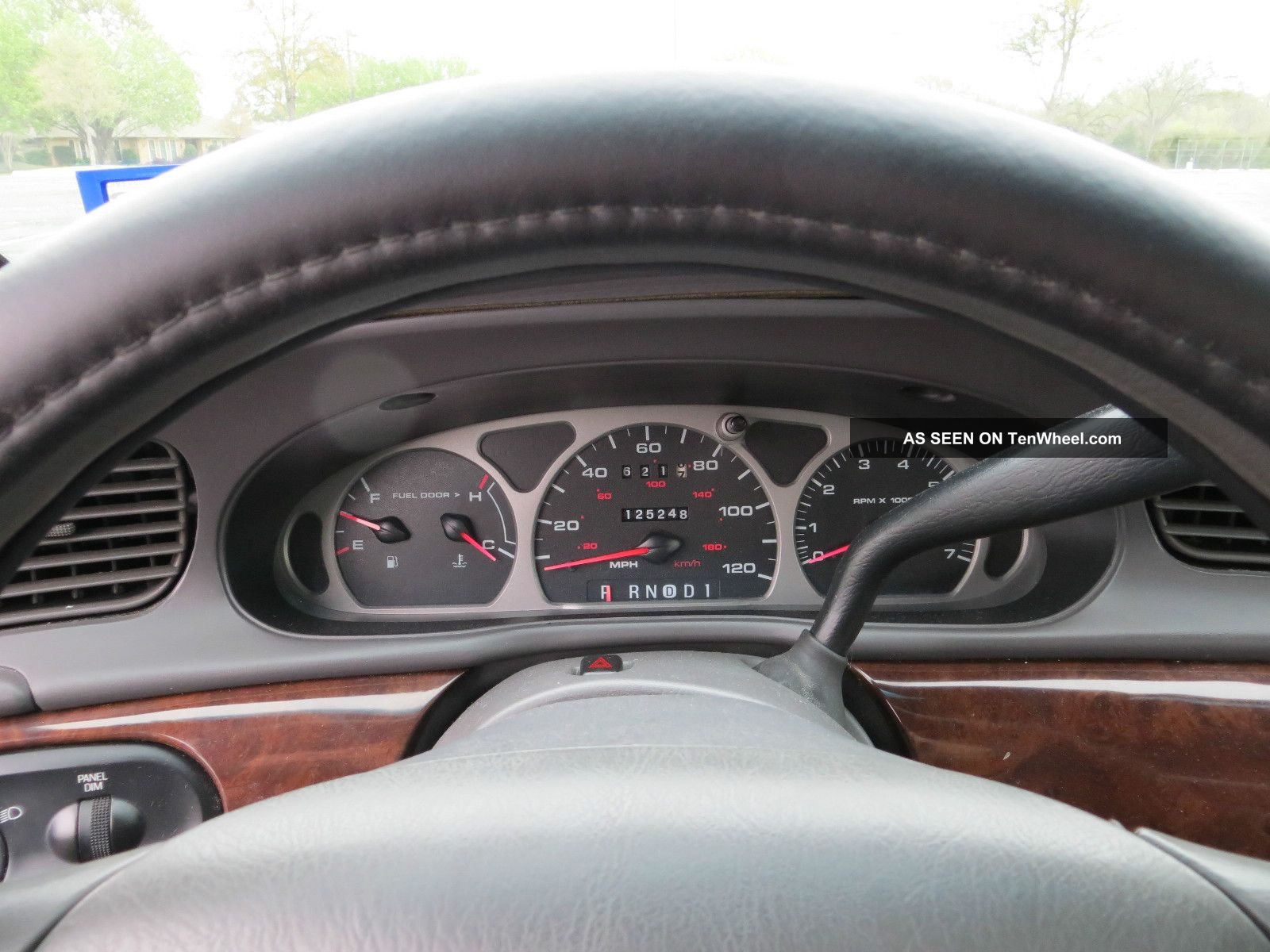 1999 Mercury Sable Gs Sedan 4 Door 3 0l