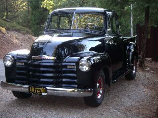 1953 Chevrolet 235 Pickup Windows All Around Excellent Restoration photo