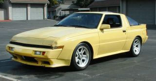 1988 Conquest Starion Rare Yellow W / Blk Cloth Interior Unmolested photo