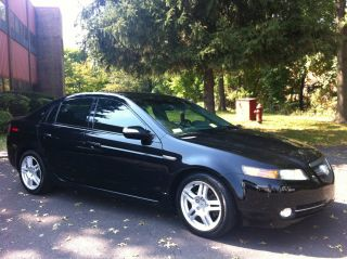 2007 Acura Tl Black Beauty Loaded Tinted photo