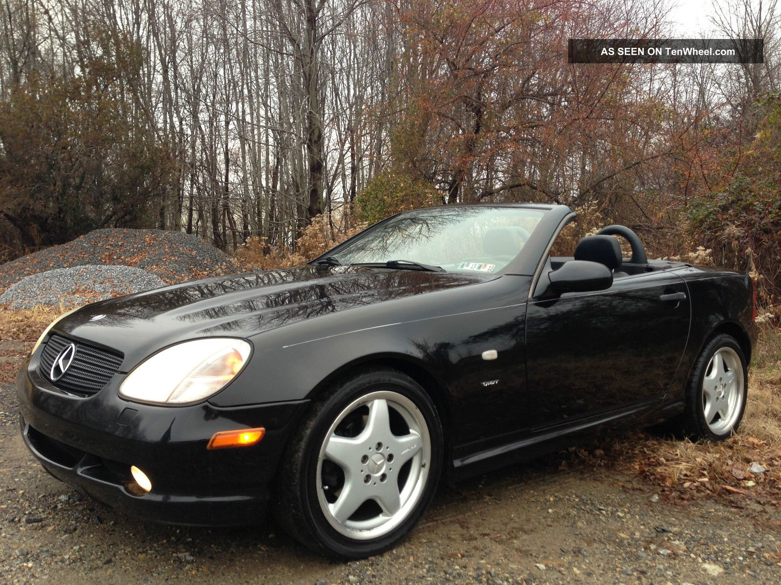 1999 Mercedes - Benz Slk 230 Black Beauty Sport Package 17