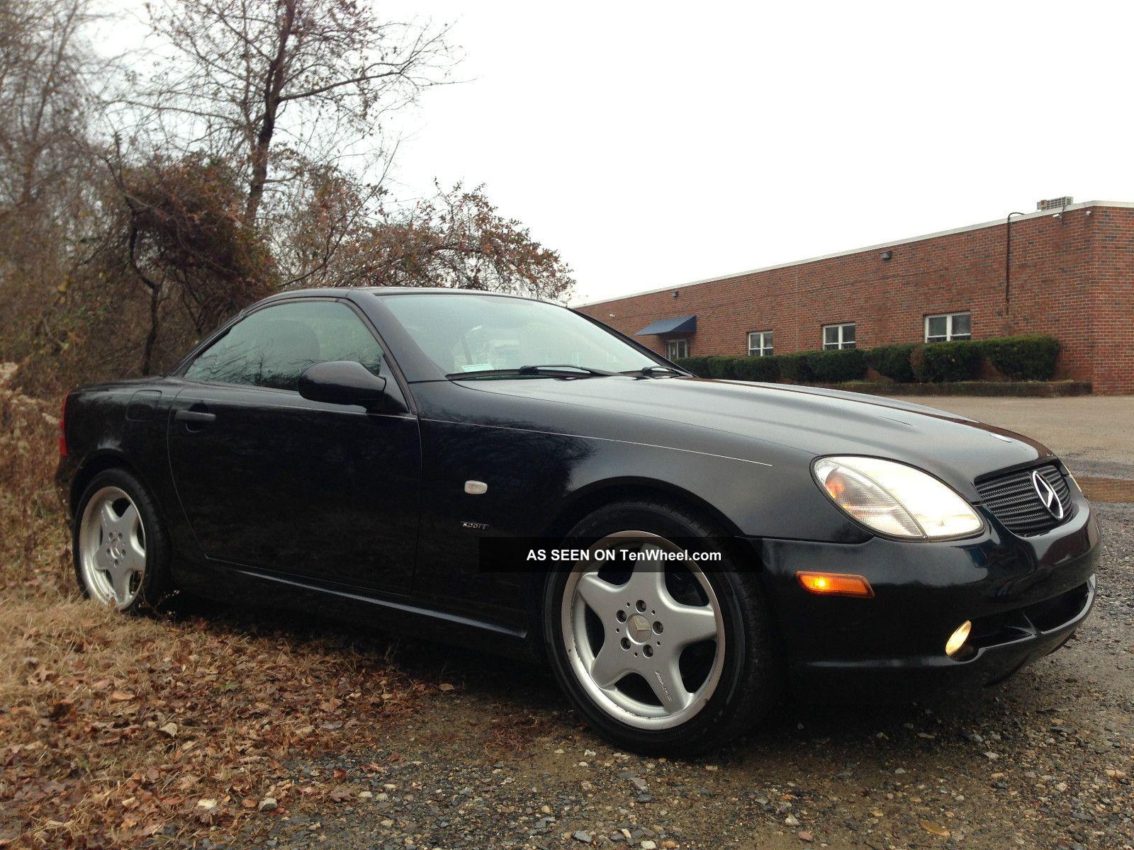1999 mercedes benz slk 230 black beauty sport package 17 for Mercedes benz slk 1999