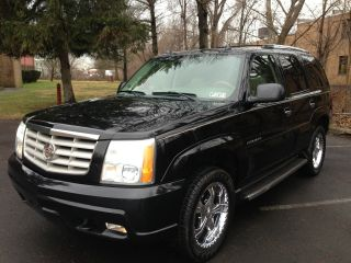 2004 Cadillac Escalade Black Beauty Navi Tv / Dvd 20