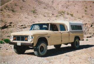 1966 3 / 4ton 4x4 Crewcab 4