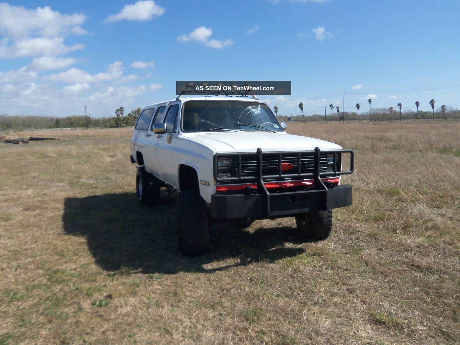 1987 chevy truck suburban 4 wheel drive with 10 inch lift. Black Bedroom Furniture Sets. Home Design Ideas